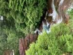 眼下のおしどり隠しの滝