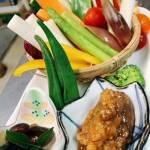 信州山の恵みベジプラスコース・野菜の前菜盛り