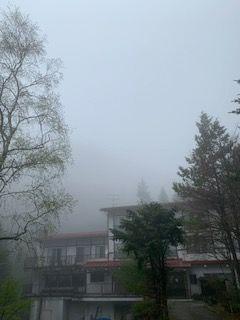 霧の明治温泉